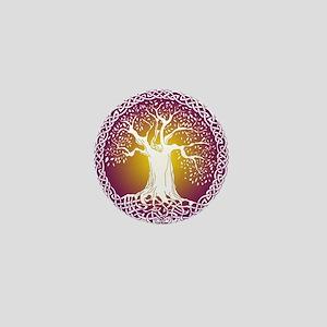 Celtic Tree III Mini Button