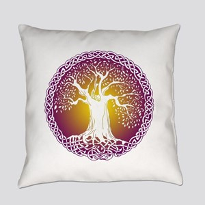 Celtic Tree III Everyday Pillow