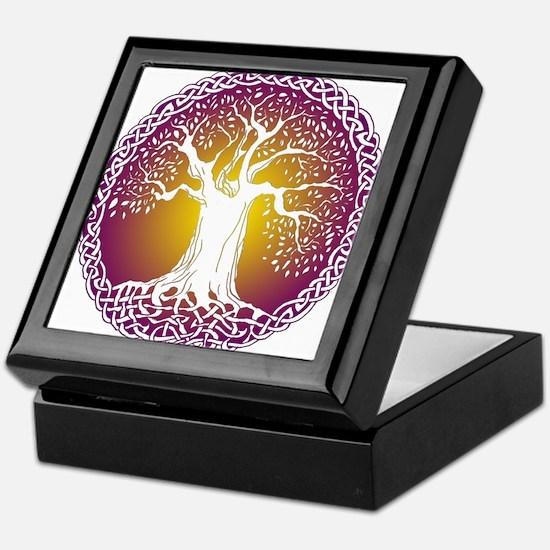 Celtic Tree III Keepsake Box