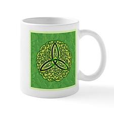 Green Celtic Trinity Knot Mugs