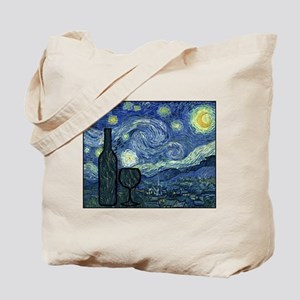Wine at Night Tote Bag