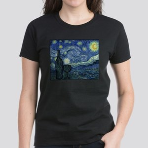 Wine at Night Women's Dark T-Shirt