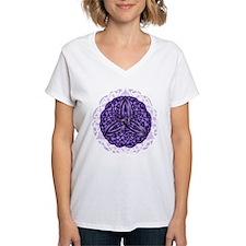 Purple Celtic Trinity Knot T-Shirt