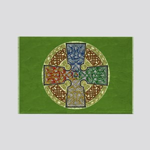 Celtic Cross Elemental Textured Magnets