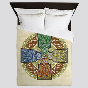 Celtic Cross Elemental Queen Duvet
