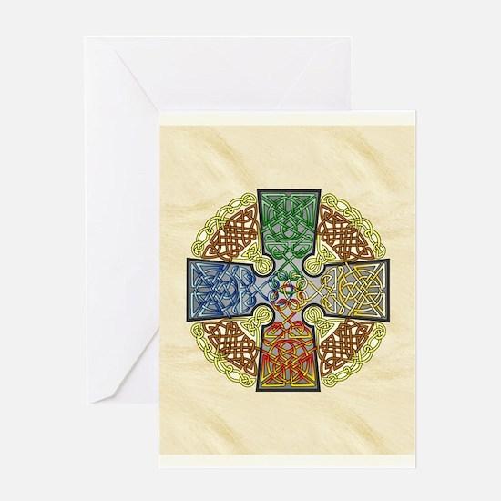 Celtic Cross Elemental Greeting Cards