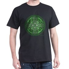 Celtic Cross Green T-Shirt