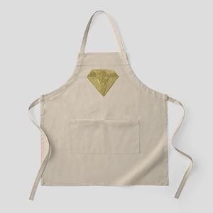 Gold Glittery Diamond Apron