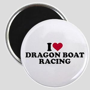 I love Dragon boat racing Magnet