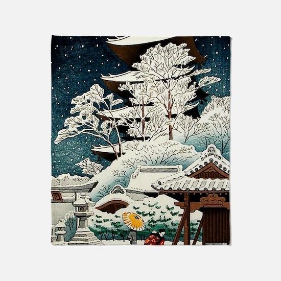 Cute Oriental Throw Blanket