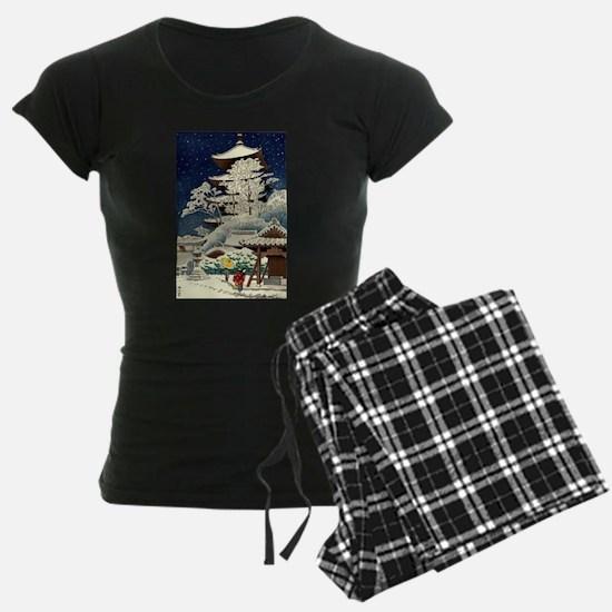 Cool Japanese Oriental Snow Pajamas