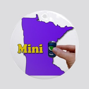 Minnesota Round Ornament