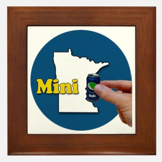 Cute Minneapolis minnesota Framed Tile