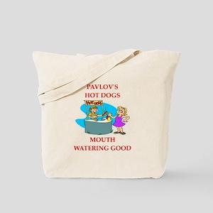 pavlov Tote Bag