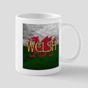 Welsh Red Dragon Flag Mugs