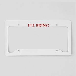 flirt License Plate Holder