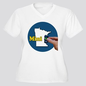 Minnesota Fun Wea Women's Plus Size V-Neck T-Shirt