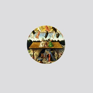 Mystical Nativity Botticelli Mini Button