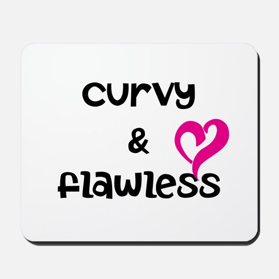 curvy and flawless Mousepad