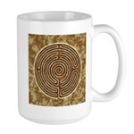 Brown Bayeux Cathedral Labyrinth Mugs