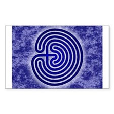 Blue Meis Galicia Labyrinth Sticker