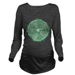 Green Chartres Cathedral Labyrinth Long Sleeve Mat