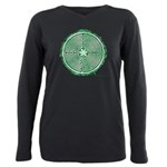Green Chartres Cathedral Labyrinth Plus Size Long