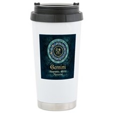 Gemini Astrology Zodiac Sign Travel Mug