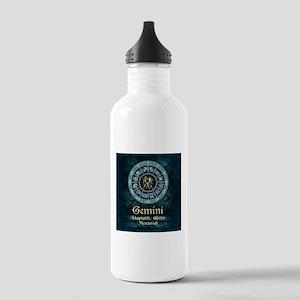 Gemini Astrology Zodiac Sign Water Bottle