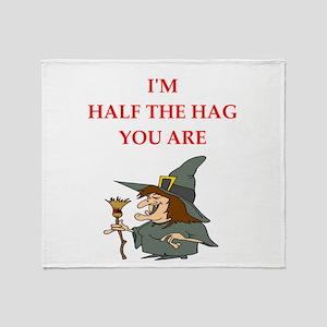 hag Throw Blanket