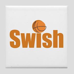 Swish Tile Coaster