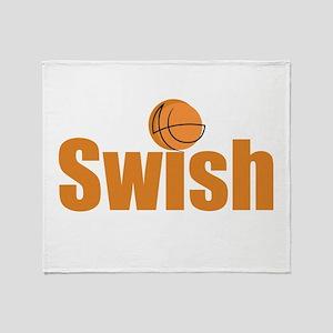 Swish Throw Blanket