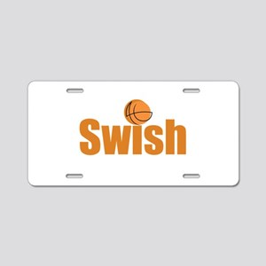 Swish Aluminum License Plate