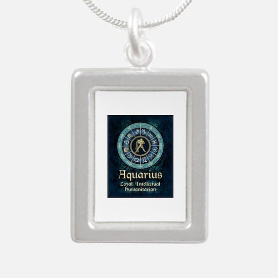Aquarius Astrology Zodiac Sign Necklaces
