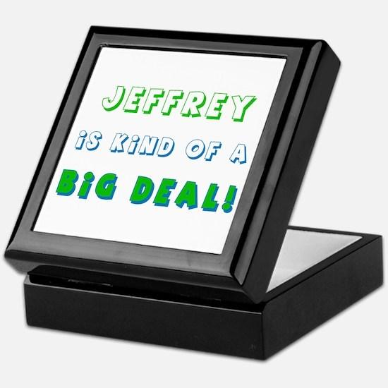 Jeffrey Is Kind of a Big Deal Keepsake Box