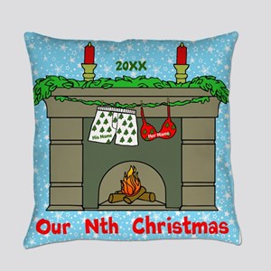 Our Nth Christmas Everyday Pillow