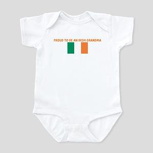 PROUD TO BE AN IRISH GRANDMA Infant Bodysuit