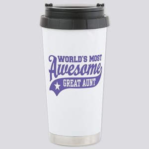 World's Most Awesome Gr Stainless Steel Travel Mug