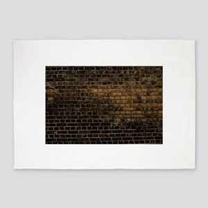 black brick 5'x7'Area Rug