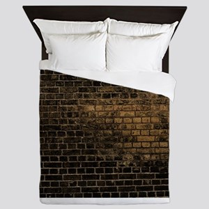 black brick Queen Duvet