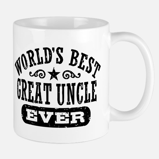 World's Best Great Uncle Ever Mug