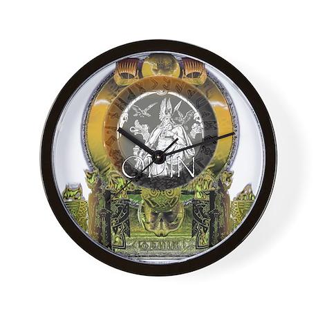 Odin Norse God Wall Clock