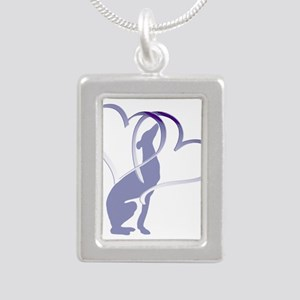 Greyhound Hearts Necklaces