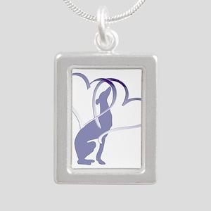 Greyhound Hearts Necklaces
