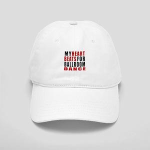 My Heart Beats For Ballroom Dance Designs Cap
