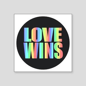 Love Wins Rainbow Sticker