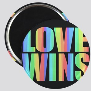 Love Wins Rainbow Magnets