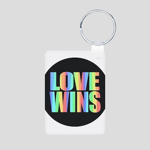 Love Wins Rainbow Keychains