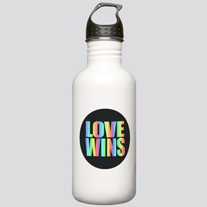 Love Wins Rainbow Stainless Water Bottle 1.0L