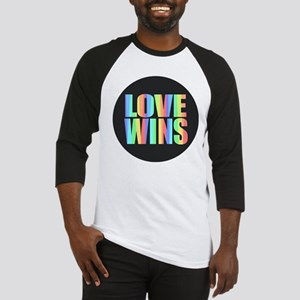 Love Wins Rainbow Baseball Jersey